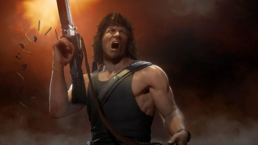 Rain, Mileena und Rambo bald in Mortal Kombat 11 Ultimate verfügbar