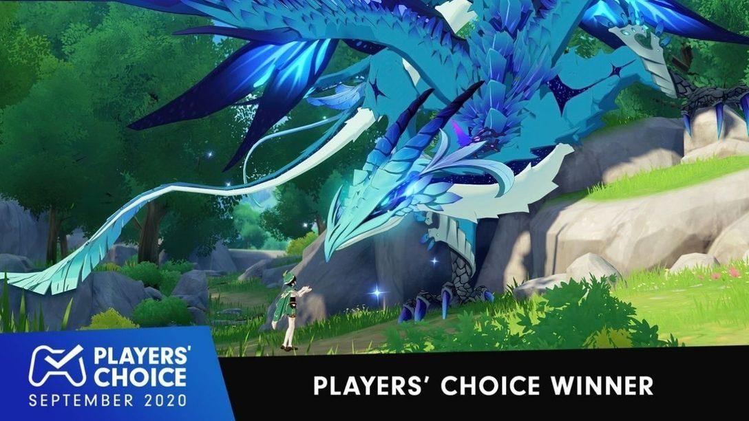 Player's Choice: Genshin Impact wurde zum besten Spiel im September 2020 gewählt
