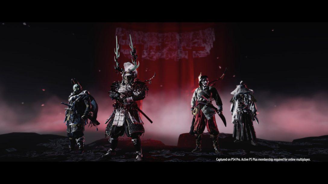 Ghost of Tsushima: Legends und Neues Spiel+ ab dem 16. Oktober!