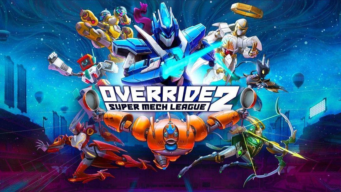 Die Beta von Override 2: Super Mech League startet heute auf PS5 und PS4