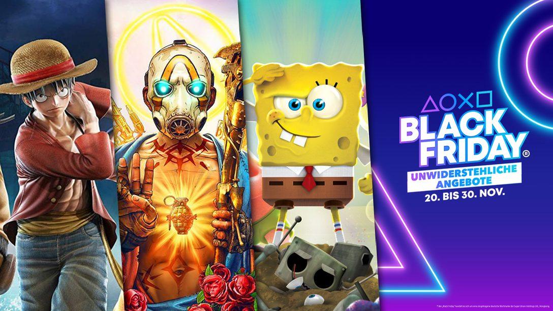 Black Friday® 2020: Die besten Couch-Koop-Spiele und DualShock4-Controller im Angebot