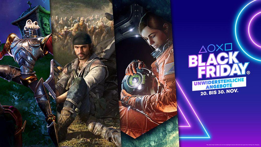 Black Friday® 2020: Sichert euch bis zu 25% Rabatt auf ein PlayStation Now- oder PlayStation Plus-Abonnement