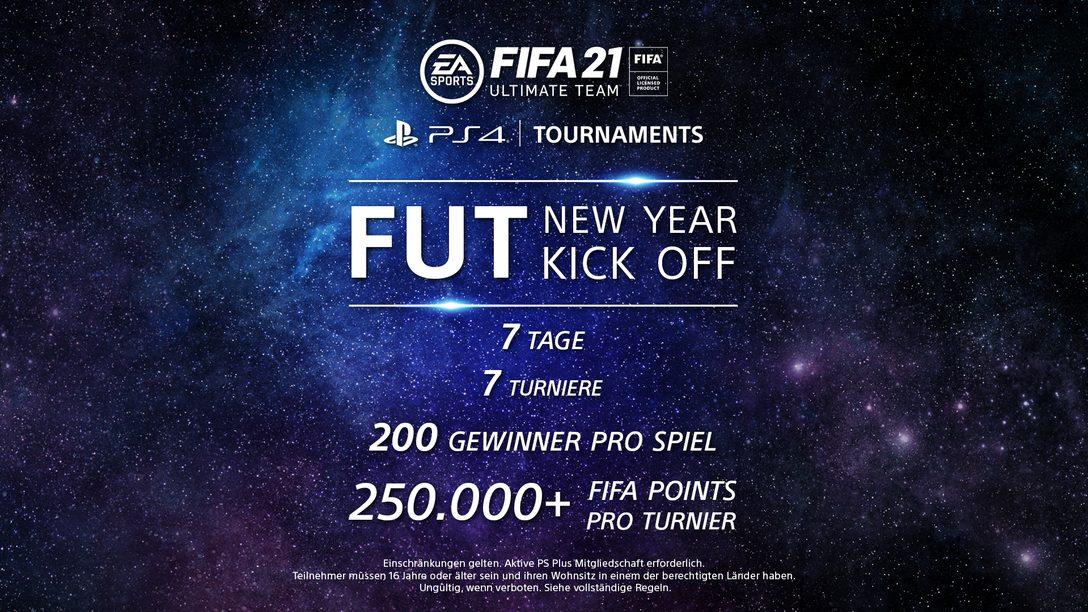 Stoßt das neue Jahr an mit FUT-Turnieren auf PS4