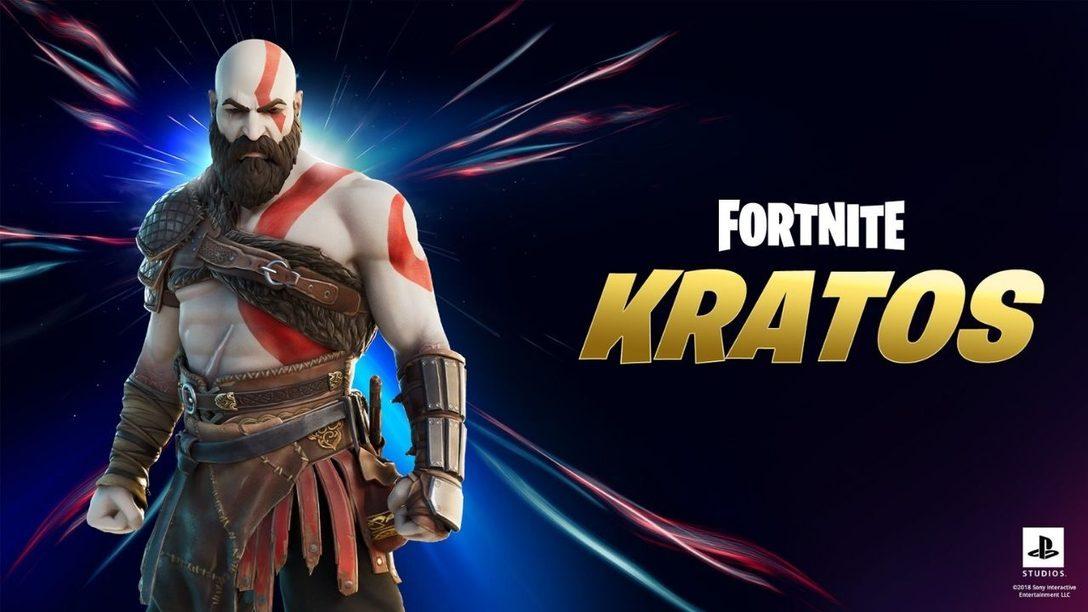 Nehmt mit Kratos in Fortnite Kapitel 2 – Saison 5 an der Jagd teil
