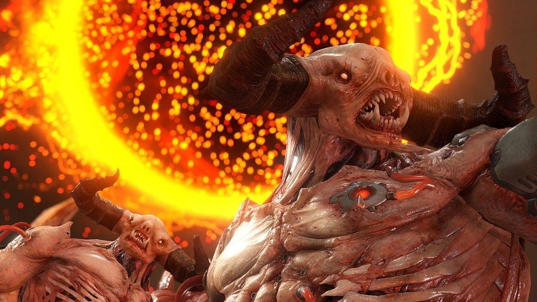 Schaut euch das brandneue Master Level in Doom Eternal an