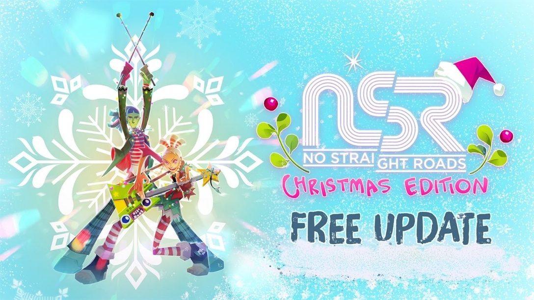 In No Straight Roads wird es festlich mit dem kostenlosen Christmas Edition Update