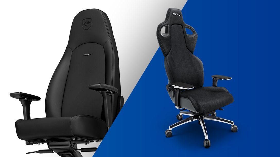Bequemer zocken – 4 empfehlenswerte Gaming-Chairs