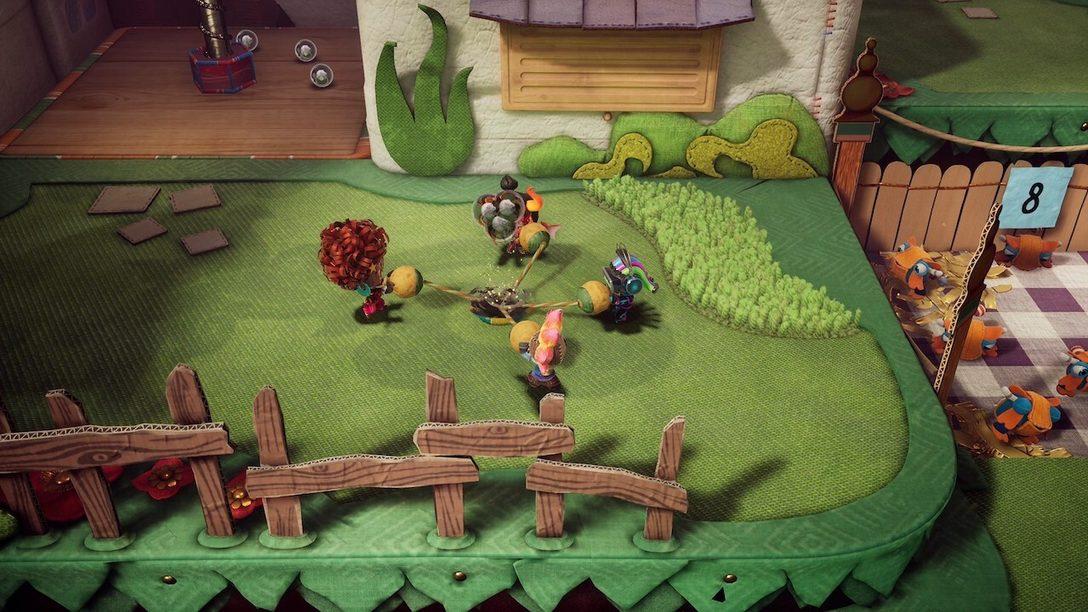 Heutiges Update zu Sackboy: A Big Adventure führt Online-Multiplayer ein