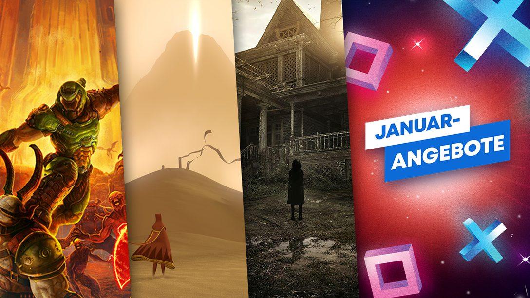 Januar-Angebote: Diese Games müsst ihr gespielt haben!