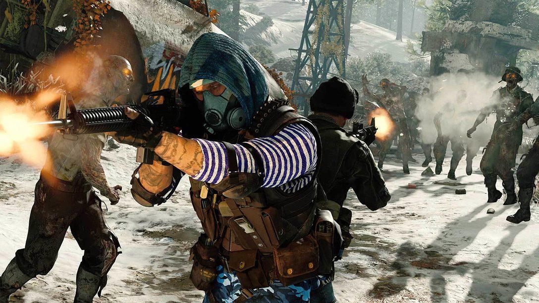 Testet kostenlos den Zombies-Modus von Black Ops Cold War