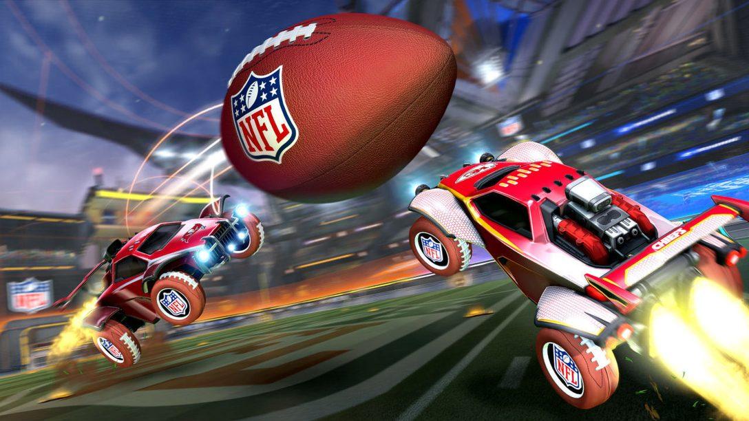 Macht euch für die NFL Super Bowl LV Feier in Rocket League bereit