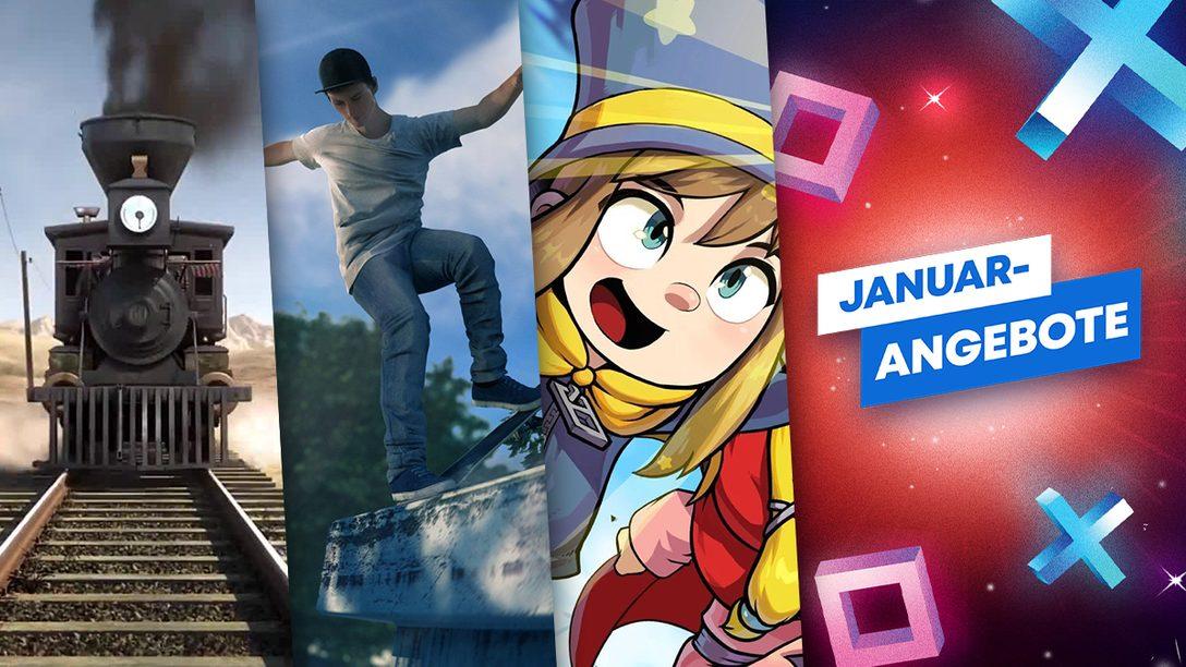 Januar-Angebote: Spiele für die ganze Familie
