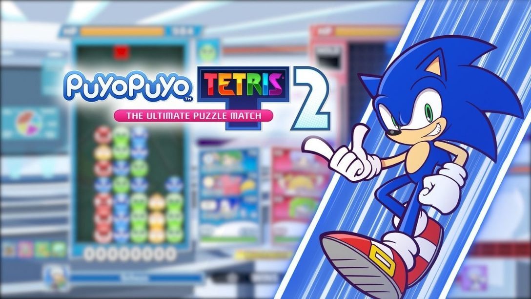 Sonic the Hedgehog rast heute per kostenlosem Update zu Puyo Puyo Tetris 2