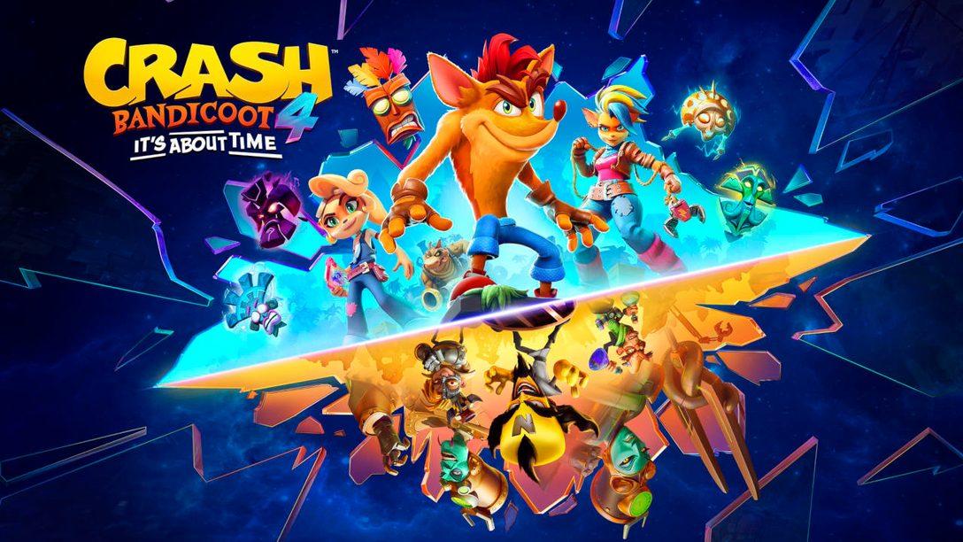 Crash Bandicoot 4: It's About Time erscheint am 12. März für PS5