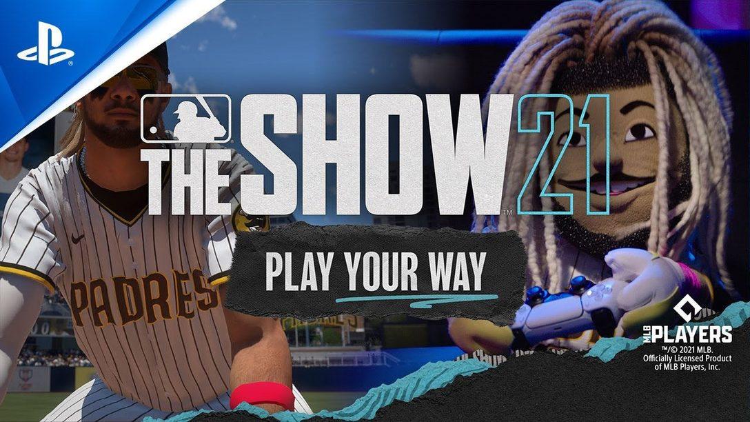 """MLB The Show 21 präsentiert """"Stunt on your Rivals"""" mit dem Coach und Fernando Tatis Jr. (als Puppe)"""