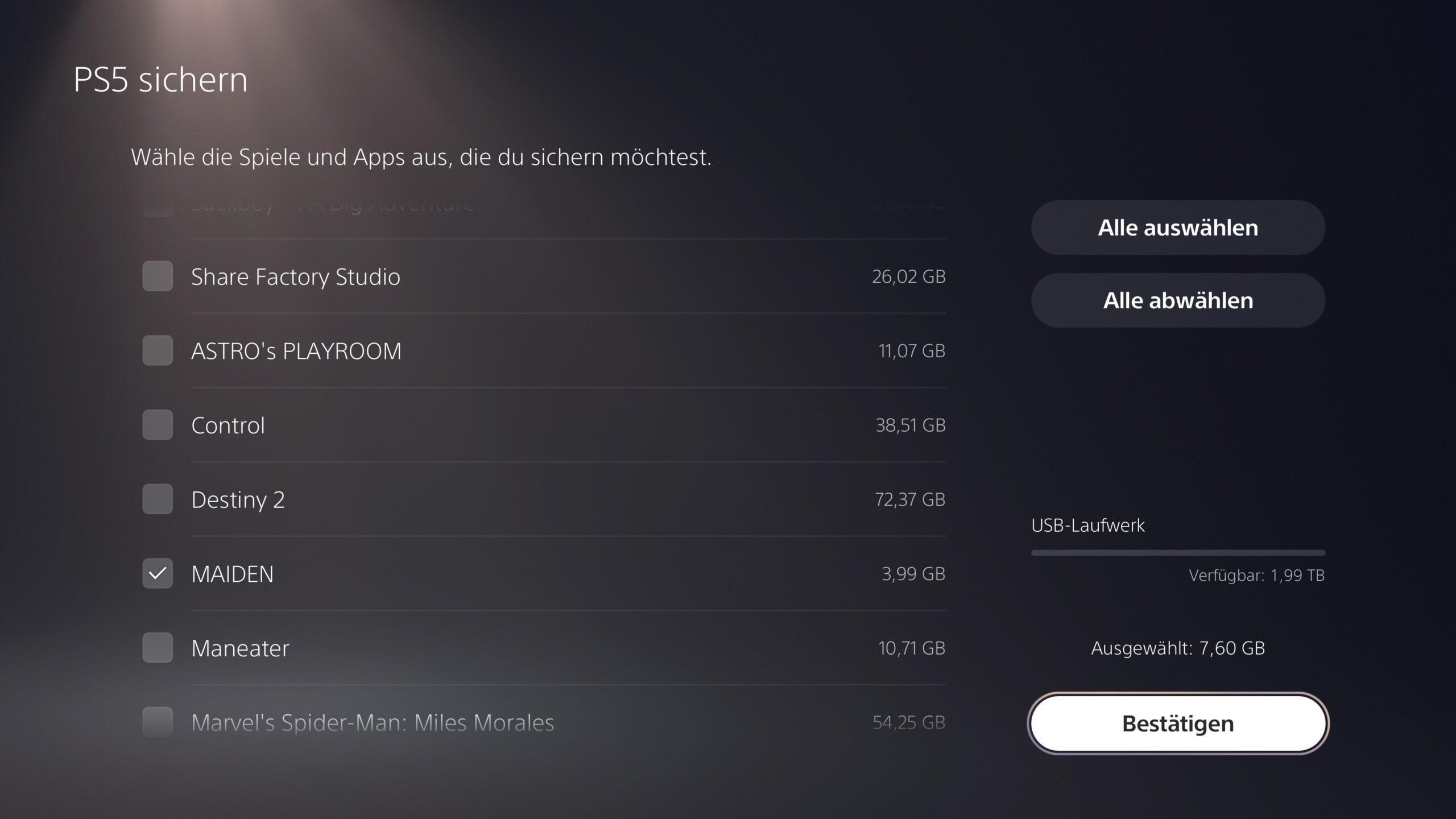 Backup06 1 scaled - PS4 und PS5: Backup erstellen und eigene Dateien sichern