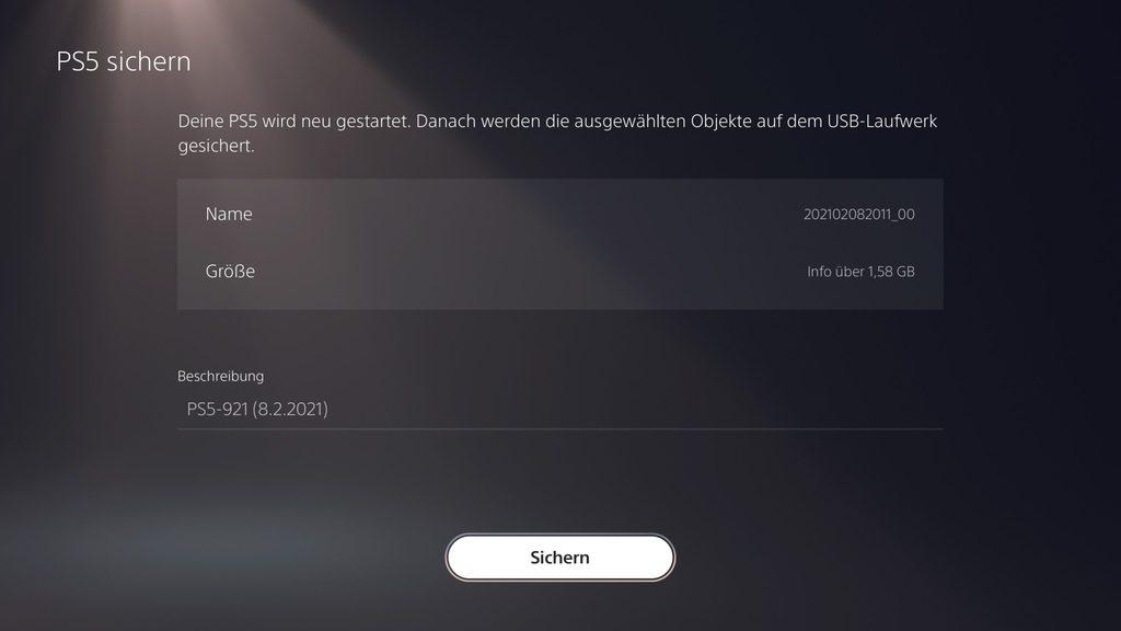Backup08 1 scaled - PS4 und PS5: Backup erstellen und eigene Dateien sichern