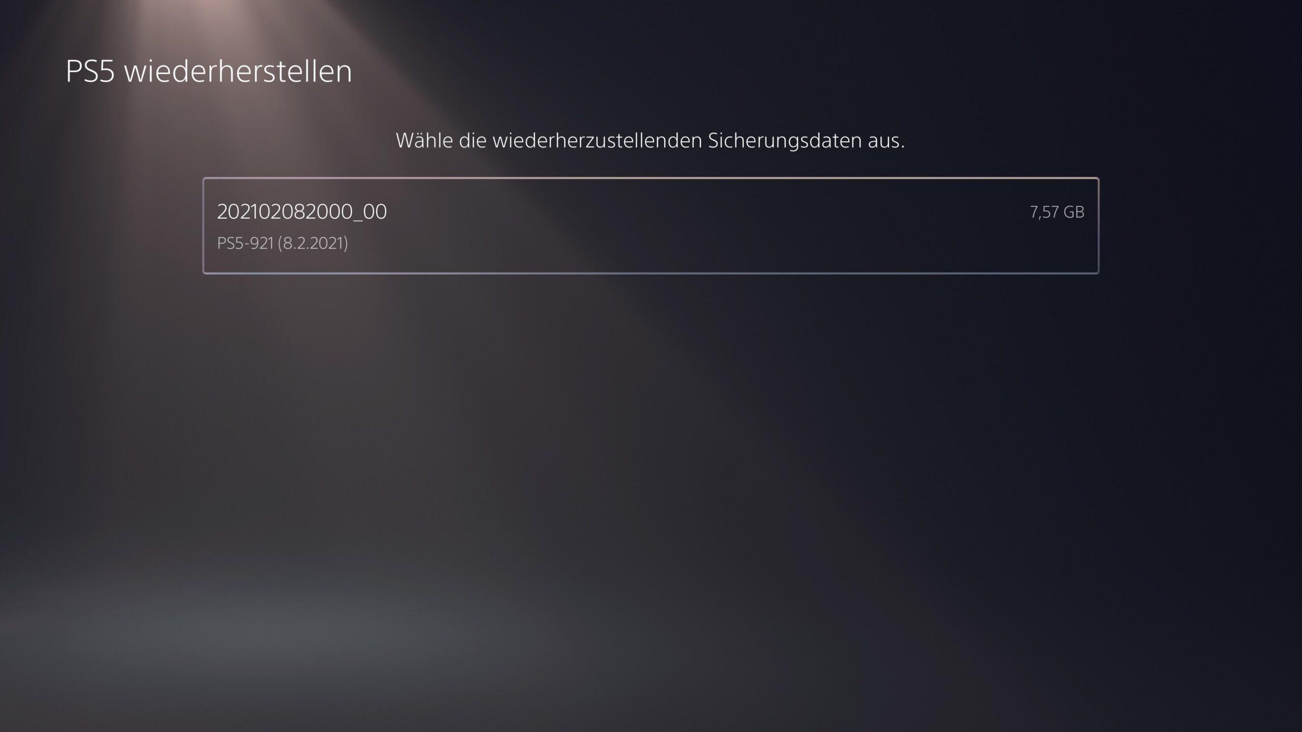 Backup09 1 scaled - PS4 und PS5: Backup erstellen und eigene Dateien sichern