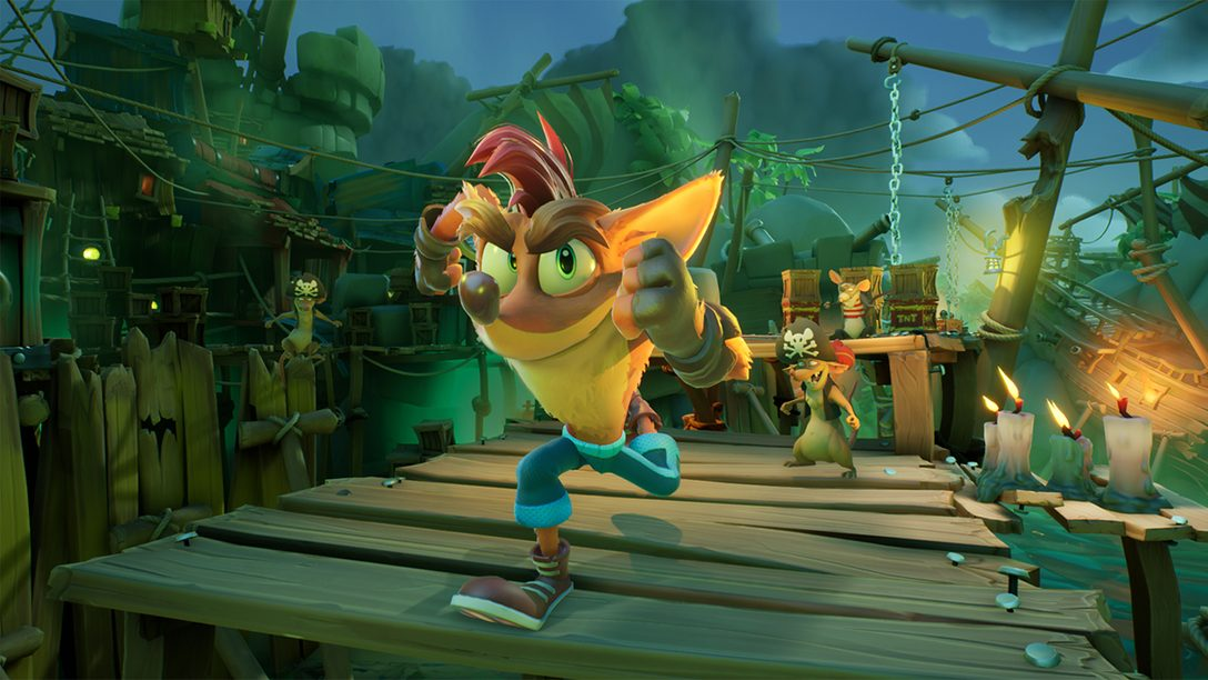 Crash Bandicoot 4: It's About Time nutzt die PS5-Features