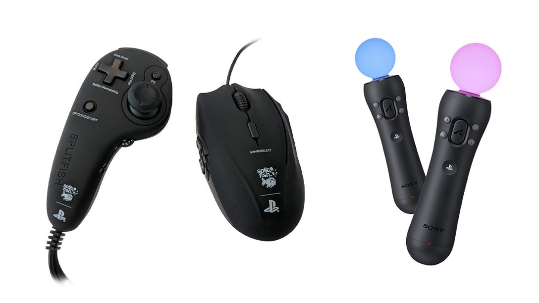 Rennspiele, Shooter, PS VR – 7 Spezial-Controller für eure PlayStation
