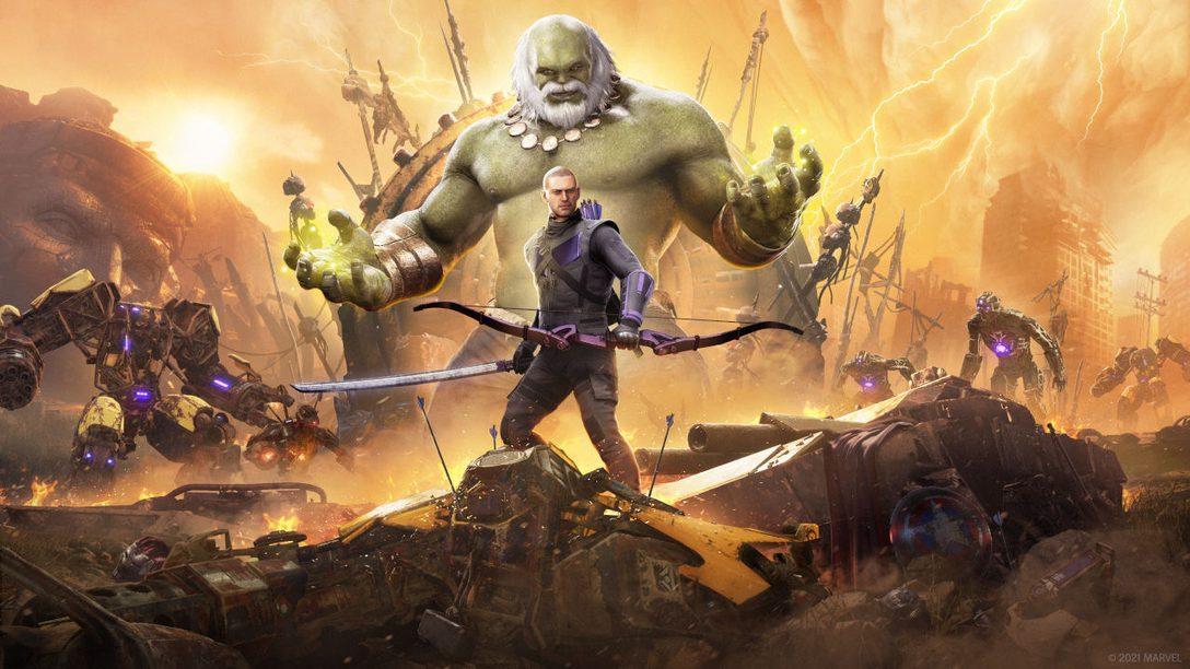 Hawkeye erscheint am 18. März für Marvel's Avengers