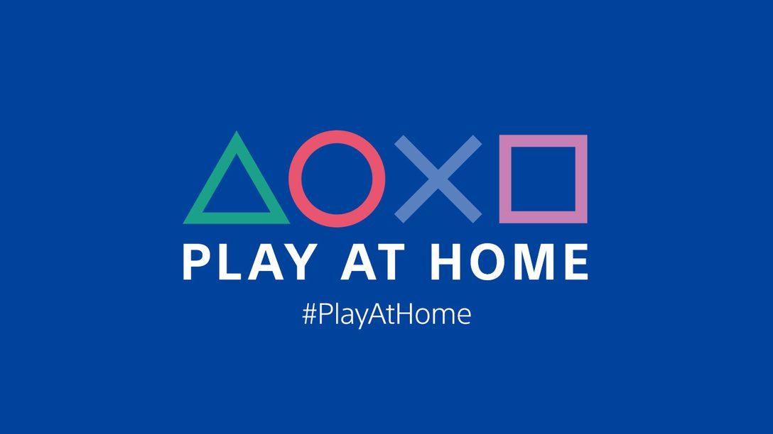 Play At Home ist zurück: Ab 2. März vier Monate lang Angebote auf Spiele und Unterhaltung mit PlayStation