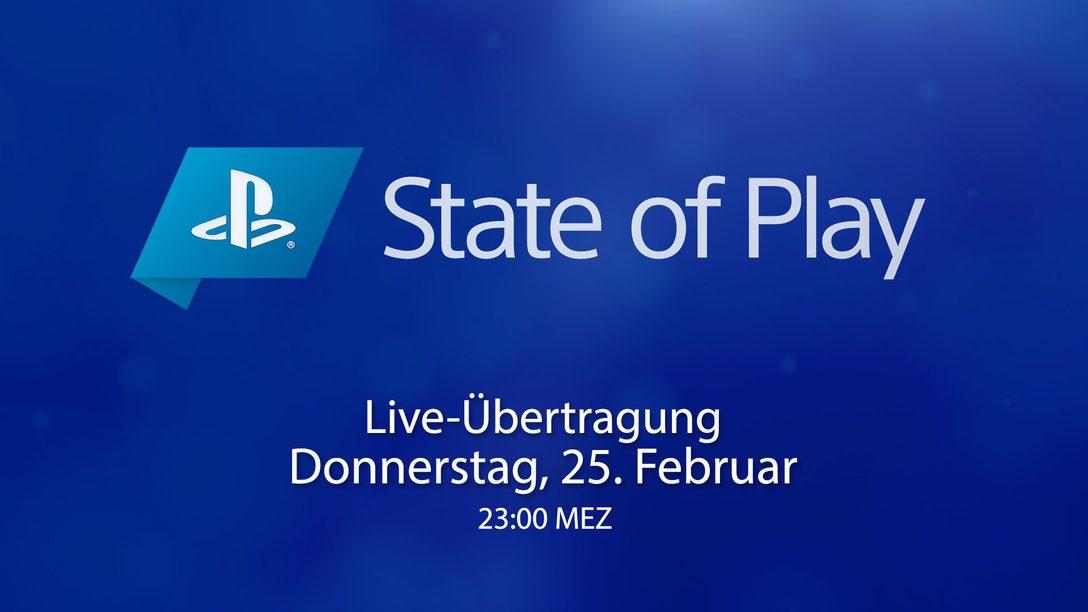 State of Play kehrt diesen Donnerstag zurück