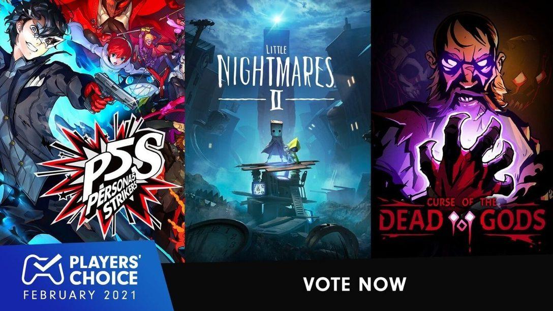 Players' Choice: Votet für euer Lieblingsspiel im Februar 2021