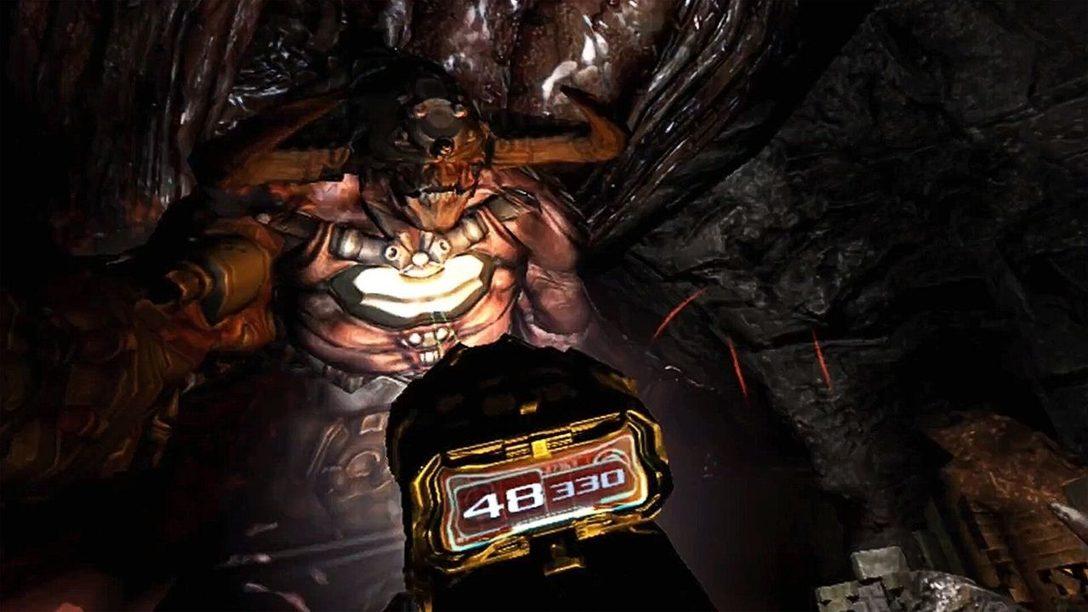 Wie das Kampferlebnis von Doom 3 für PS VR noch packender gestaltet wurde