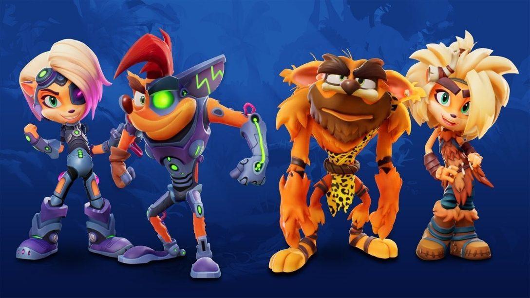 Crash 4 hat richtig coole Skins!