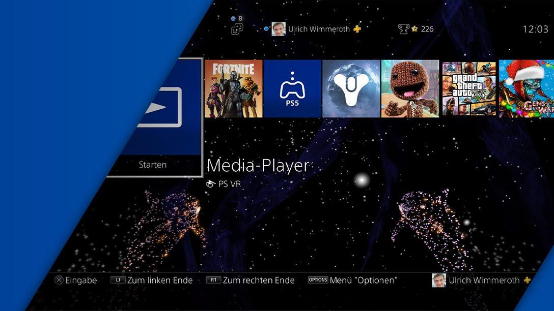Eigene Hintergrundbilder und dynamische Themes: So einfach ändert ihr das Design des PS4-Menüs