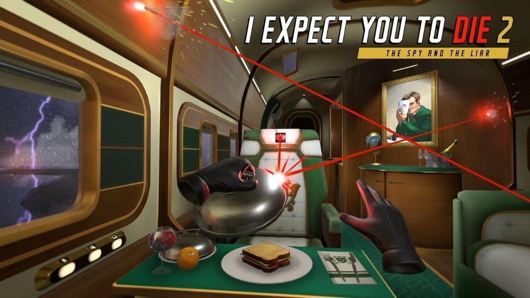 I Expect You To Die 2 kehrt auf PS VR zurück
