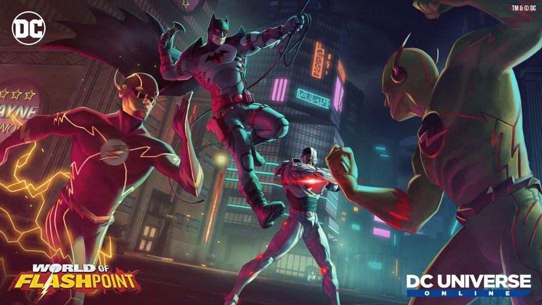DC Universe Online präsentiert World of Flashpoint