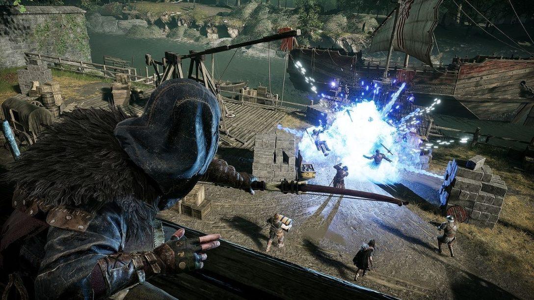 Wie Hood: Outlaws & Legends die DualSense-Möglichkeiten ausnutzt