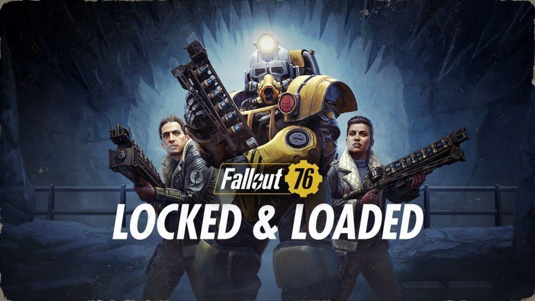 Ein Blick hinter die Kulissen des neuen Updates Geladen und entsichert für Fallout 76