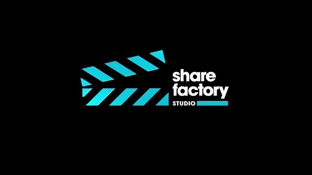 Das neueste Update für Share Factory Studio für PS5 ist jetzt verfügbar