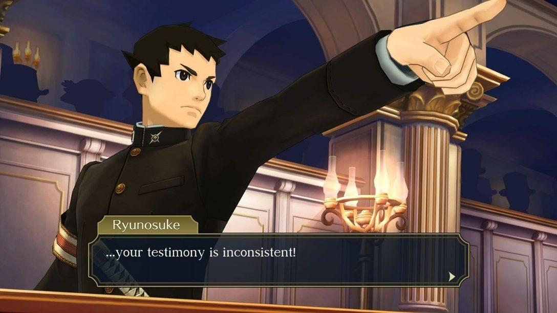 The Great Ace Attorney Chronicles erscheint am 27. Juli für PS4