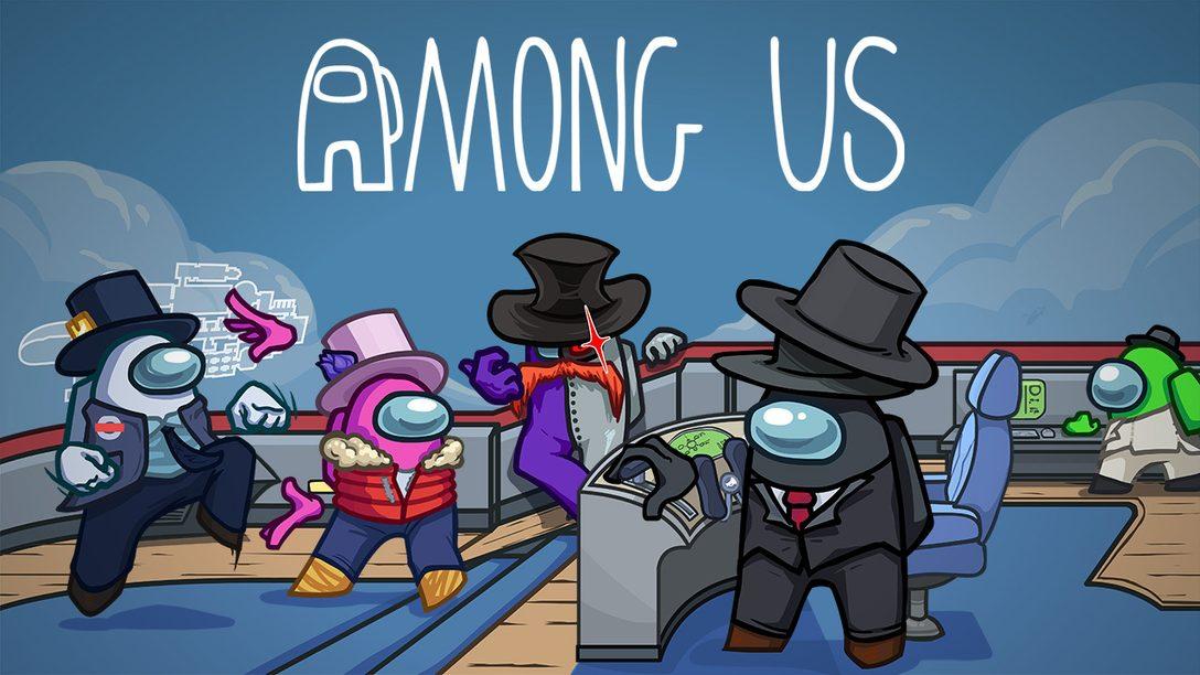 Versammelt eure Crew – Among Us erscheint dieses Jahr auf PS4 und PS5!