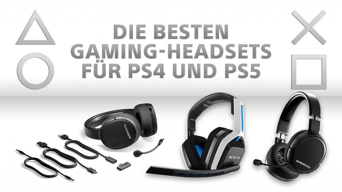 Qual der Wahl: 6 Gaming-Headsets für PS4 und PS5