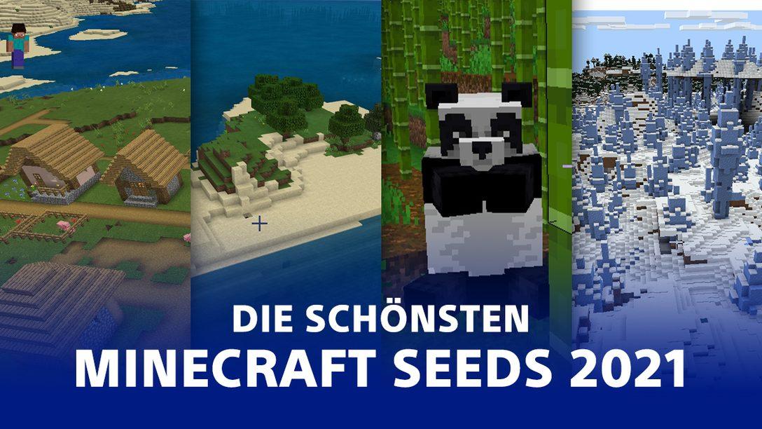 Minecraft Seeds 2021 – Diese Welten solltet ihr unbedingt besuchen