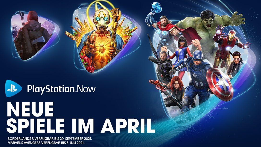 PlayStation Now-Spiele für April: Marvel's Avengers, Borderlands 3 und The Long Dark