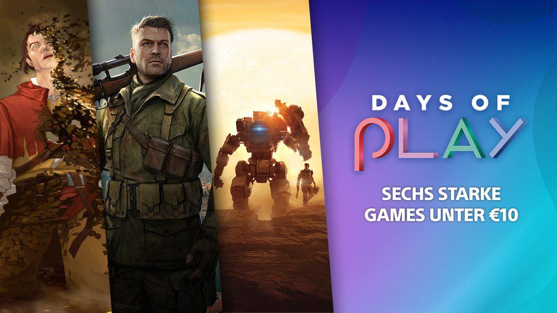 Days of Play 2021: 6 starke Spiele unter 10 Euro