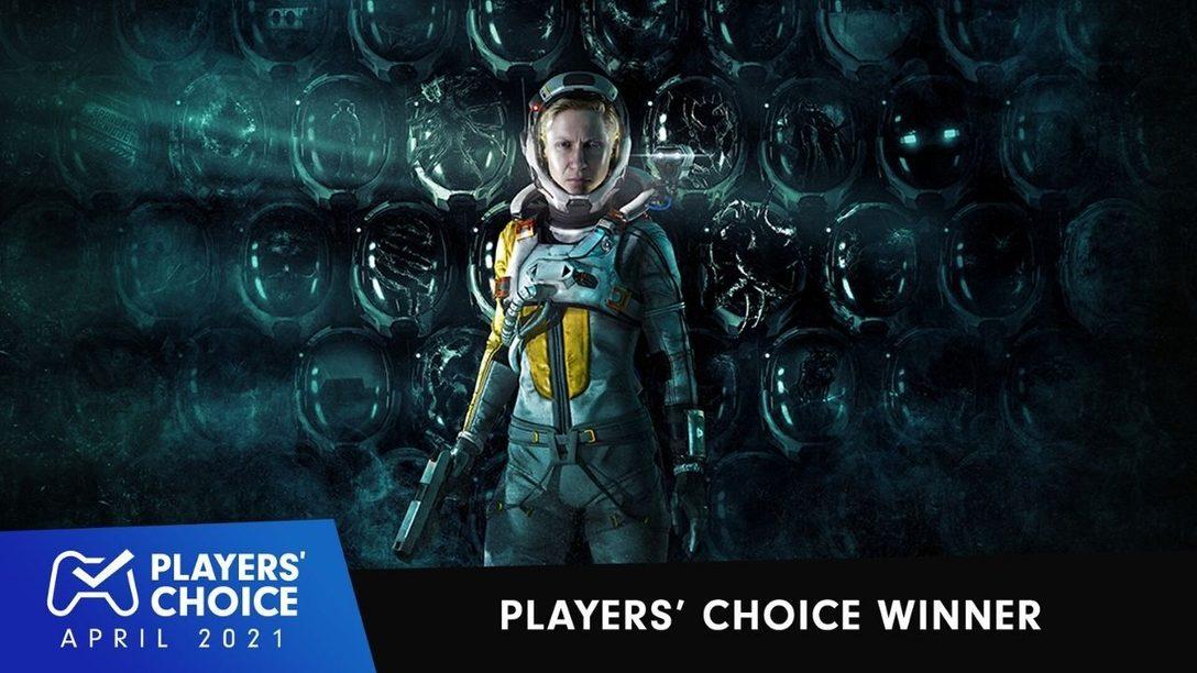 Players' Choice: Returnal wurde zum besten neuen Spiel April 2021 gevotet