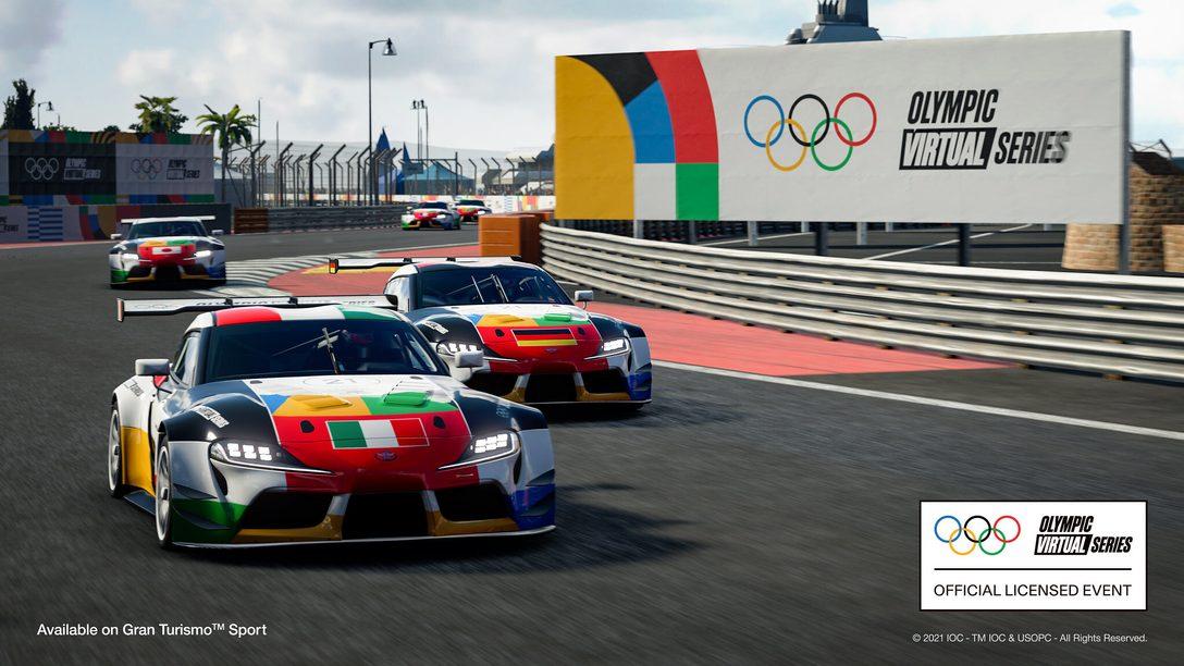 """Allererste """"Olympic Virtual Series""""-Motorsportveranstaltung wird am 23. Juni zu übertragen"""