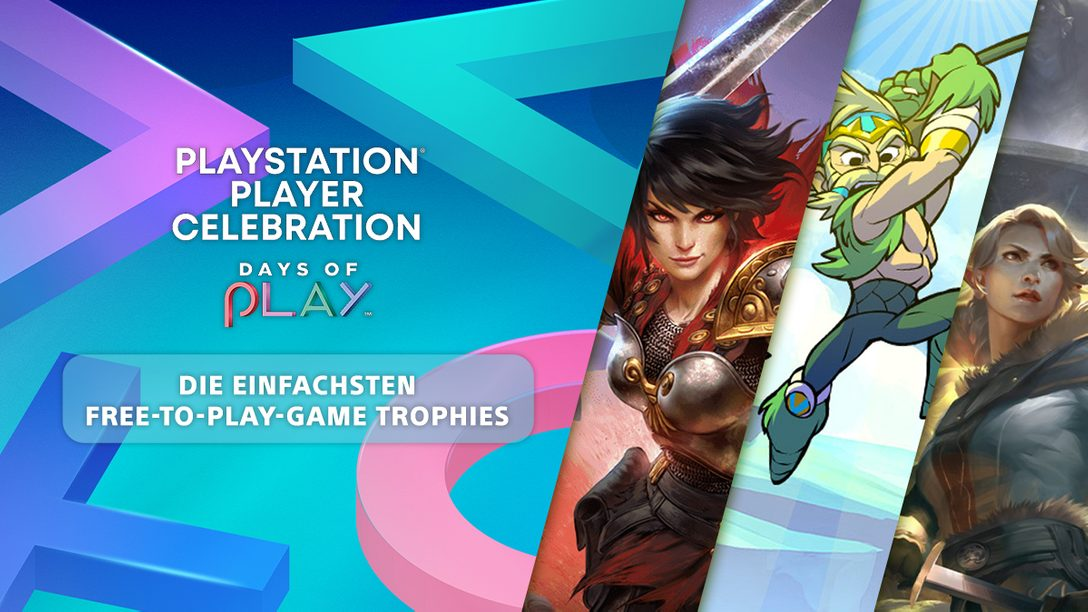Player Celebration 2021: Die besten Free-to-Play-Spiele, um einfach Trophäen für die Community-Challenge zu erspielen