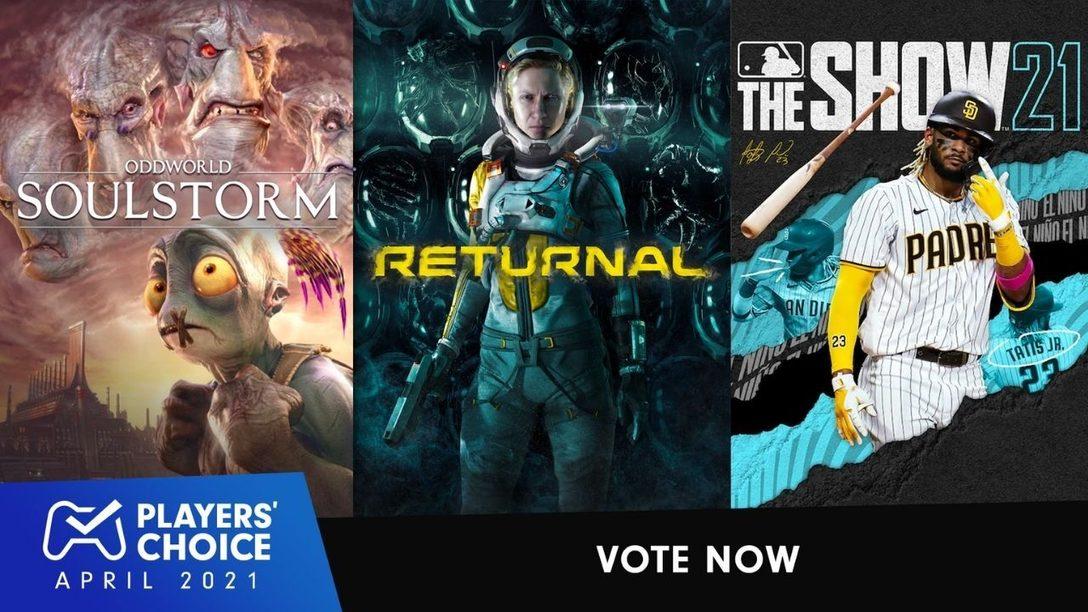 Players Choice: Votet für das beste neue Spiel im April