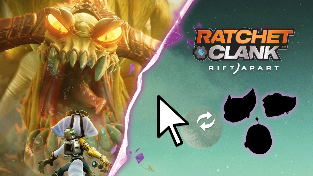 Holt euch Ratchet & Clank Maus-Icons