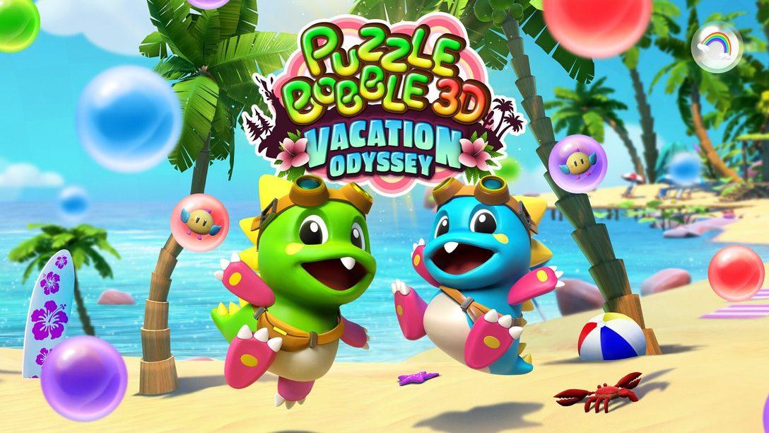Puzzle Bobble 3D: Vacation Odyssey erweitert den Bubble-Shooter auf PS VR um eine neue Dimension