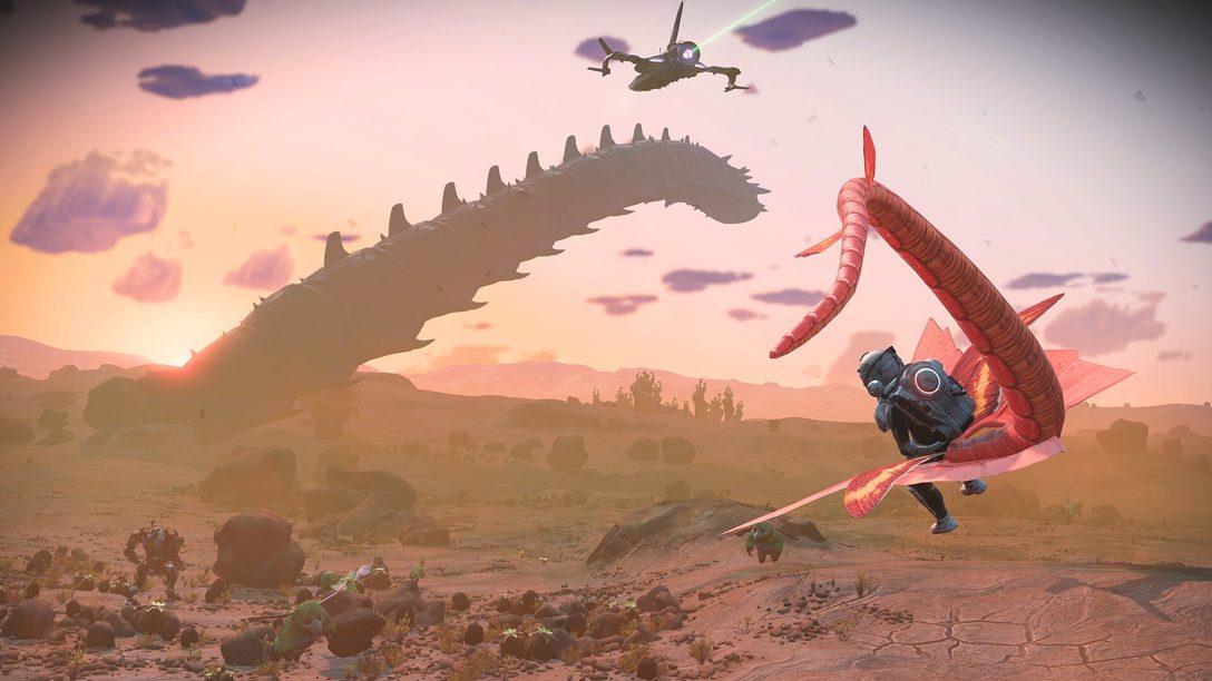 No Man's Sky: 21 Wege, wie das heutige Prisms-Update das Sci-Fi-Adventure grafisch überarbeitet