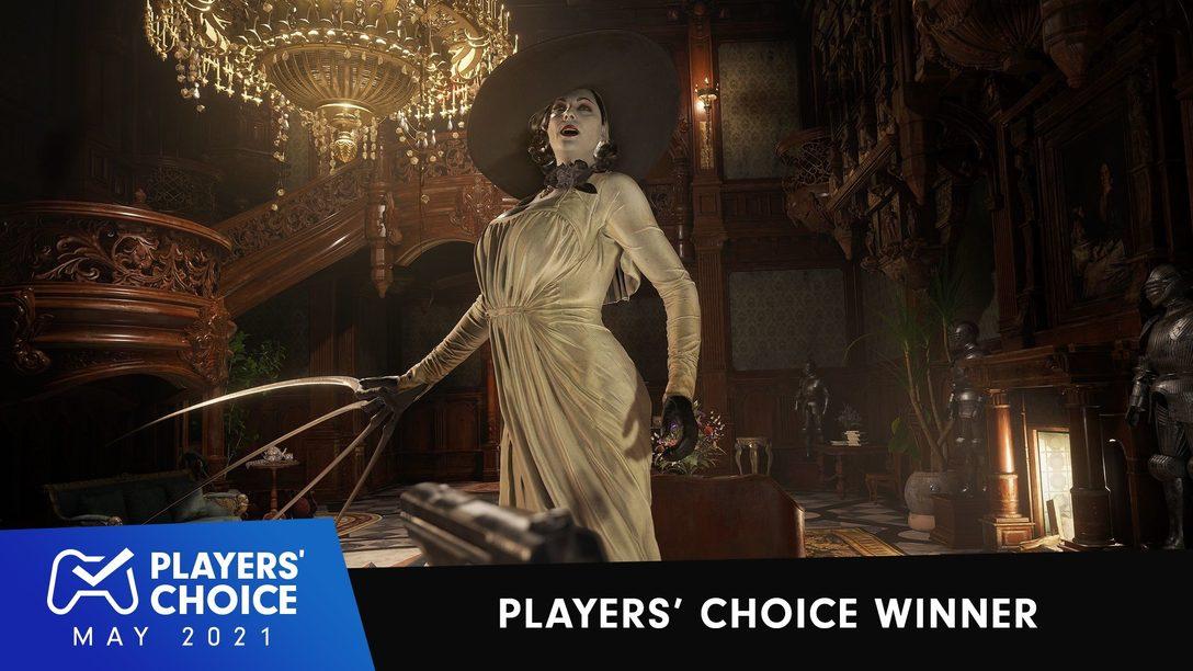 Players' Choice: Resident Evil Village ist das beste neue Spiel im Mai 2021